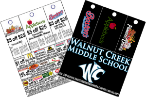 3-tag fundraising cards