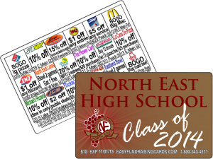 Discount Cards Fundraiser