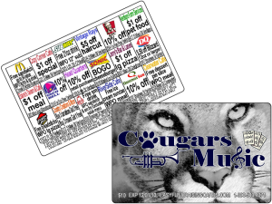 Discount Cards Fundraiser Sample