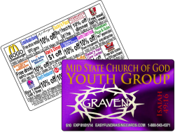 fundraiser discount cards