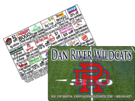 Football Discount Card Fundraiser