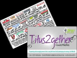 Women's Ministries Church Fundraising Card
