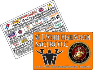 Discount Card Fundraising For JRROTC
